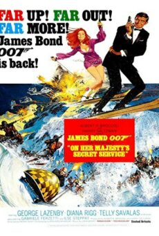 James Bond 007 On Her Majestys Secret Service (1969) เจมส์ บอนด์ 007 ภาค 6