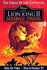The Lion King 2 Simba's Pride (1998) เดอะ ไลออน คิง ภาค 2 ซิมบ้าเจ้าป่าทรนง