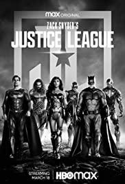 Zack Snyder's Justice League (2021) แซ็ค สไนเดอร์ จัสติซ ลีก ภาคล่าสุด